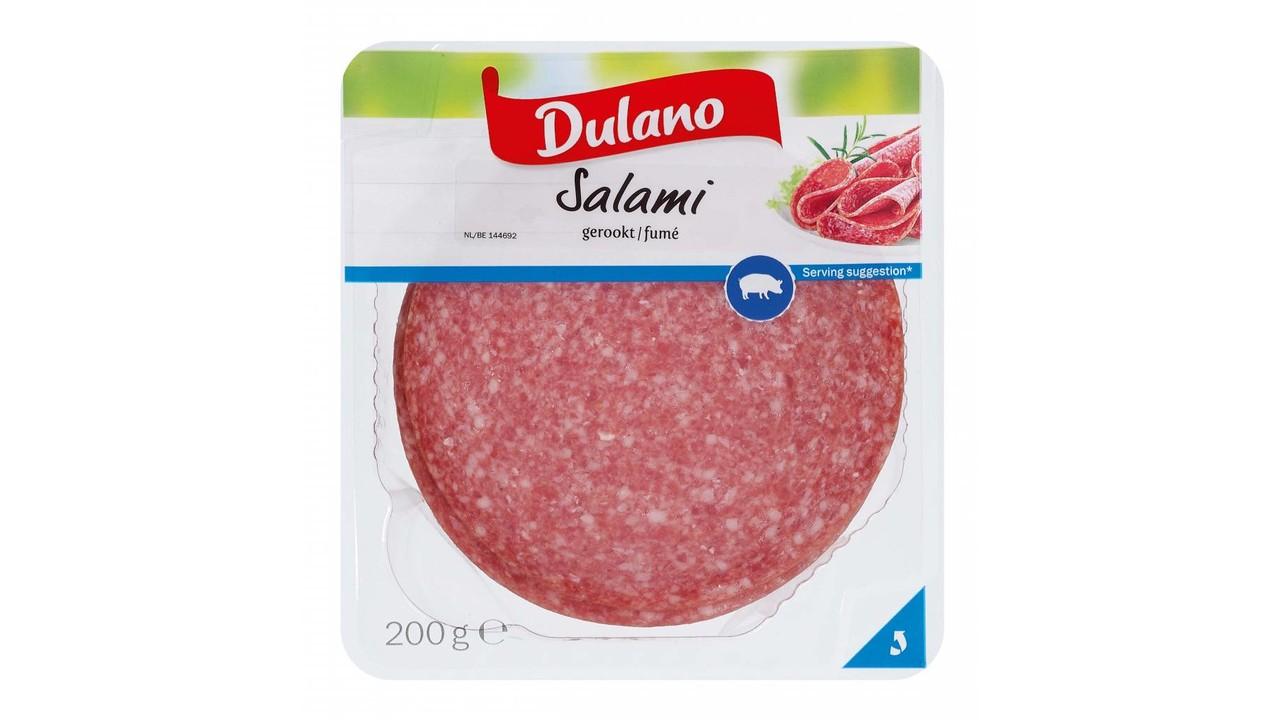 DULANO Salami zonder look, gerookt