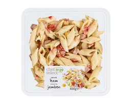 CHEF SELECT TO GO Verse pastasalade penne ham