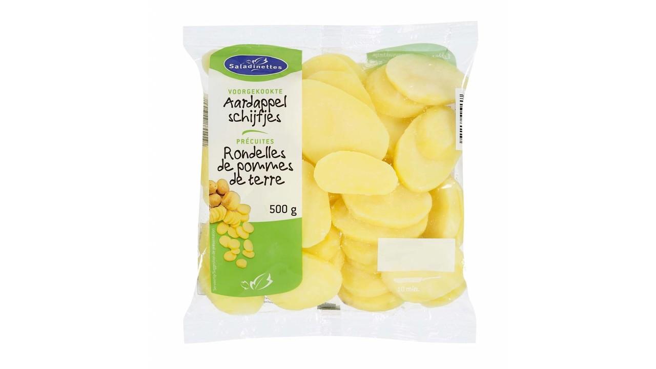 SALADINETTES Aardappelschijfjes