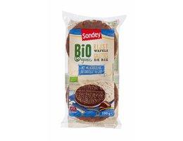 SONDEY BIO rijstwafels volle melkchocolade