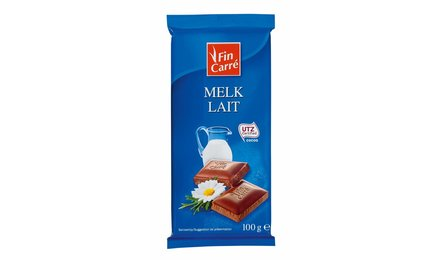 FIN CARRÉ Melkchocolade