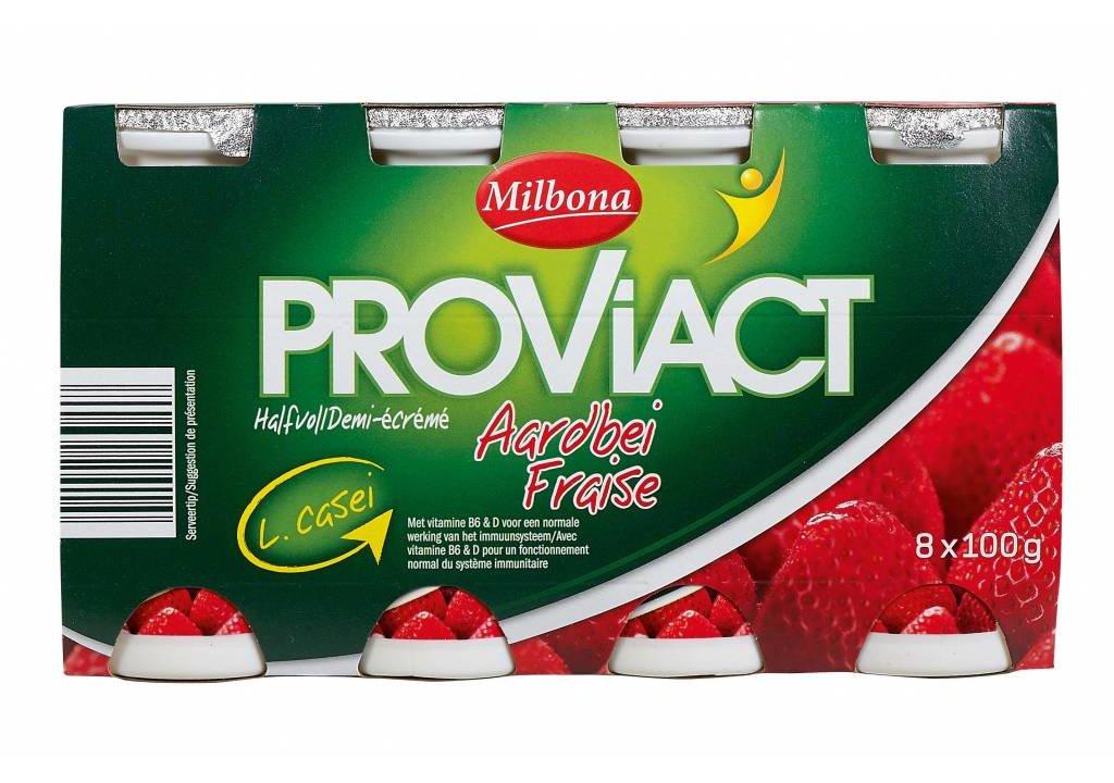 MILBONA Drinkyoghurt aardbei
