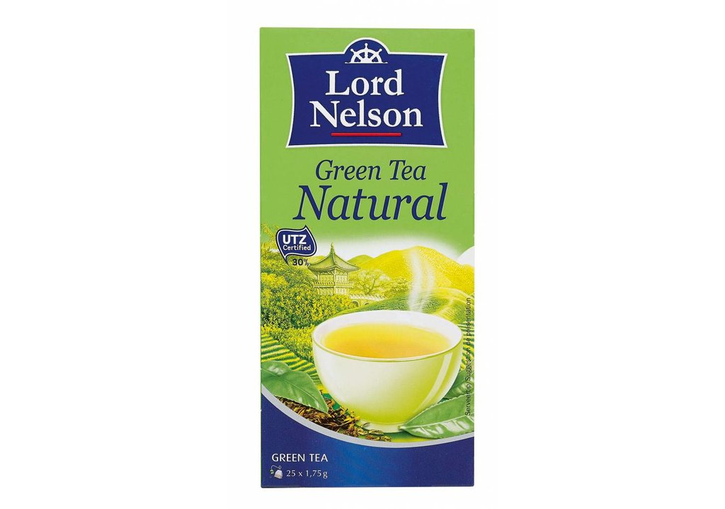 LORD NELSON Groene thee natuur