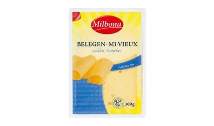 MILBONA Gouda belegen kaas - sneden