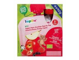 LUPILU Fruit in knijpzakjes aardbei appel peer >5m