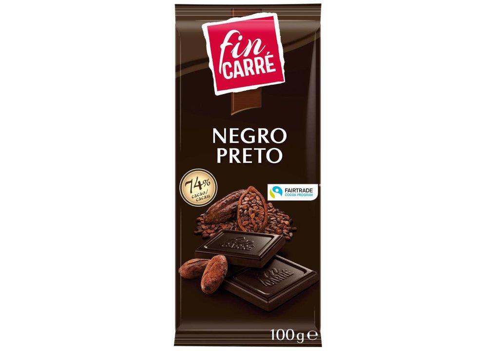 FIN CARRÉ Chocolade puur superieur