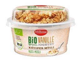 MILBONA BIO yoghurt met topcup | Vanille