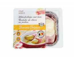CHEF SELECT Witloofrolletjes met ham