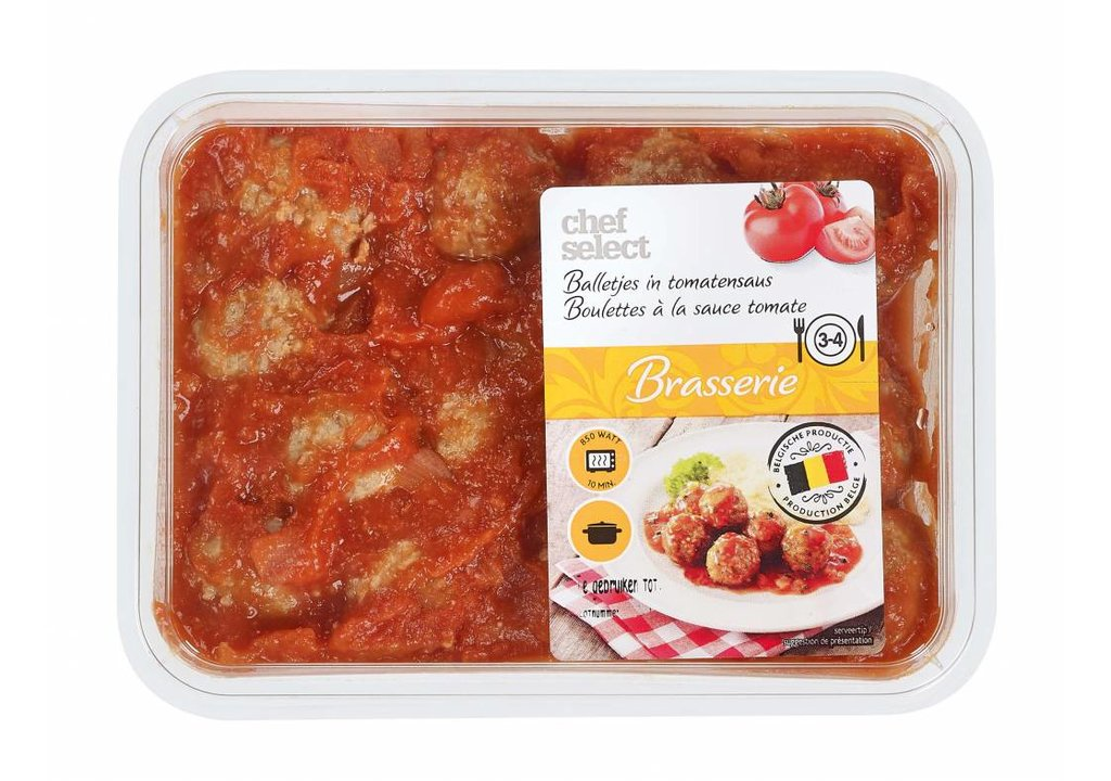 CHEF SELECT Balletjes in tomatensaus