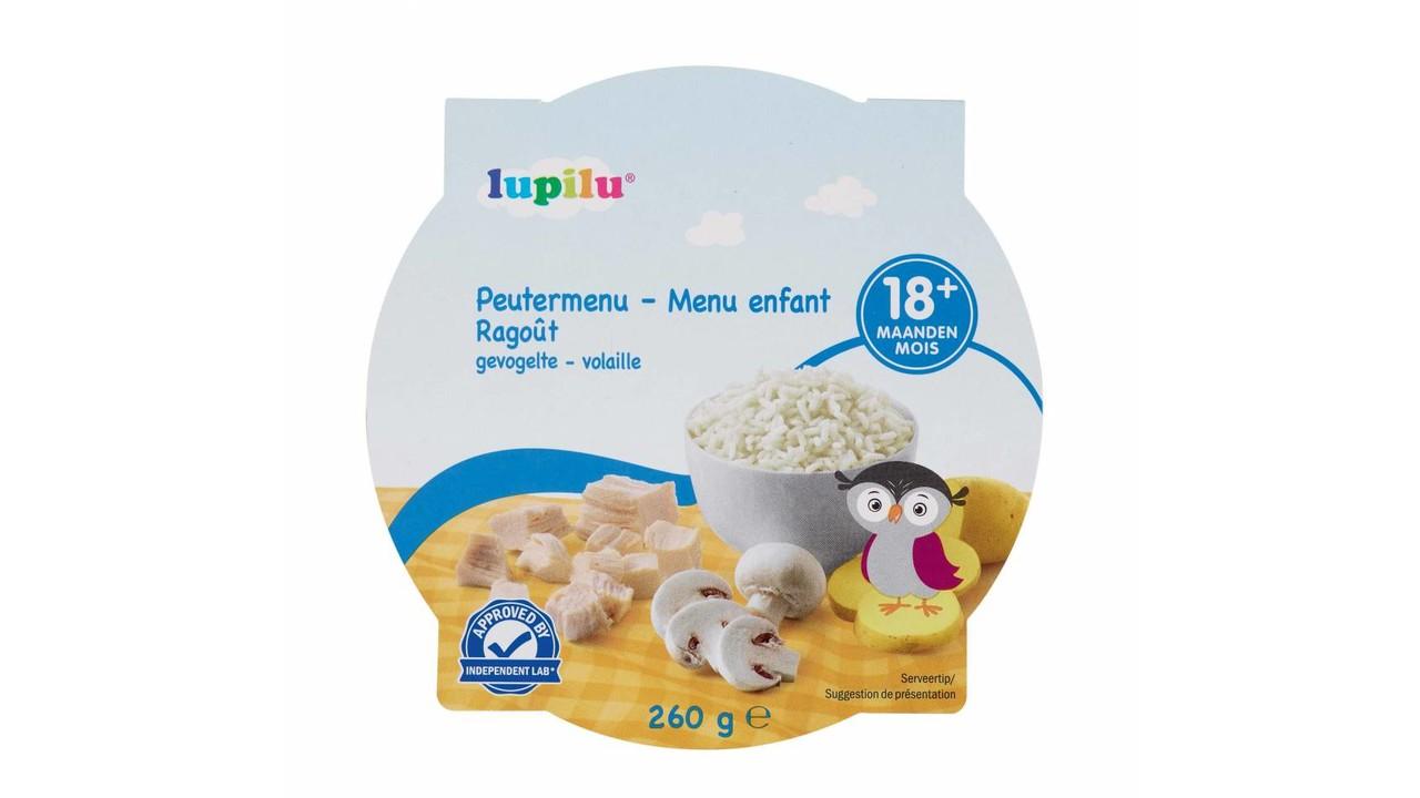 LUPILU Peutermenu gevogelte >18m