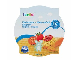 LUPILU Peutermenu spaghetti bolognaise >12m