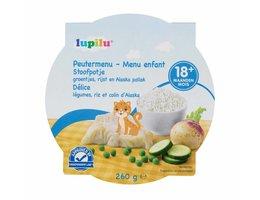 LUPILU Peutermenu groentenpuree met koolvis >18 maanden