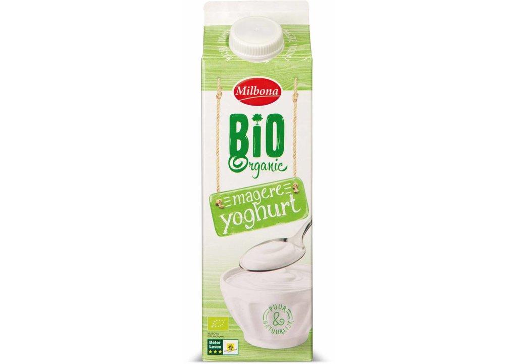 MILBONA Biologische magere yoghurt