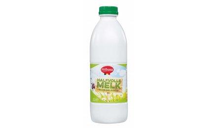 MILBONA Halfvolle melk (fles)
