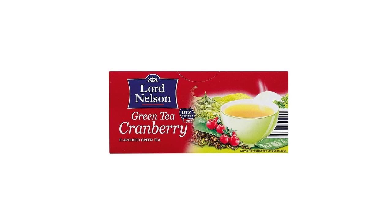 LORD NELSON Groene thee veenbessen