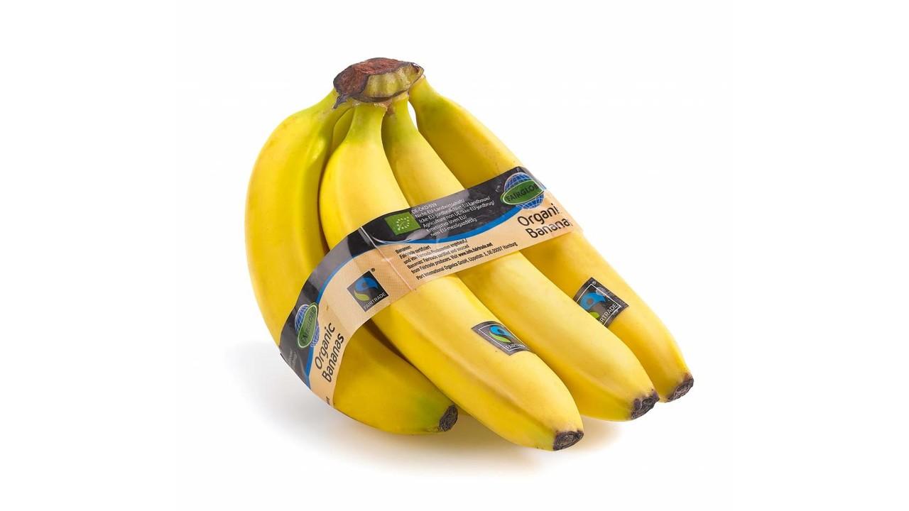 BIO fairtrade bananen per tros