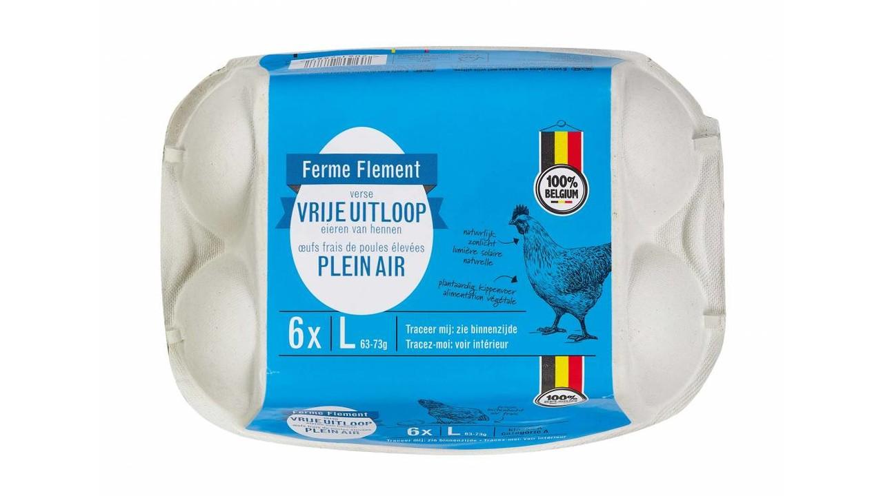FERME FLEMENT Eieren vrije uitloop