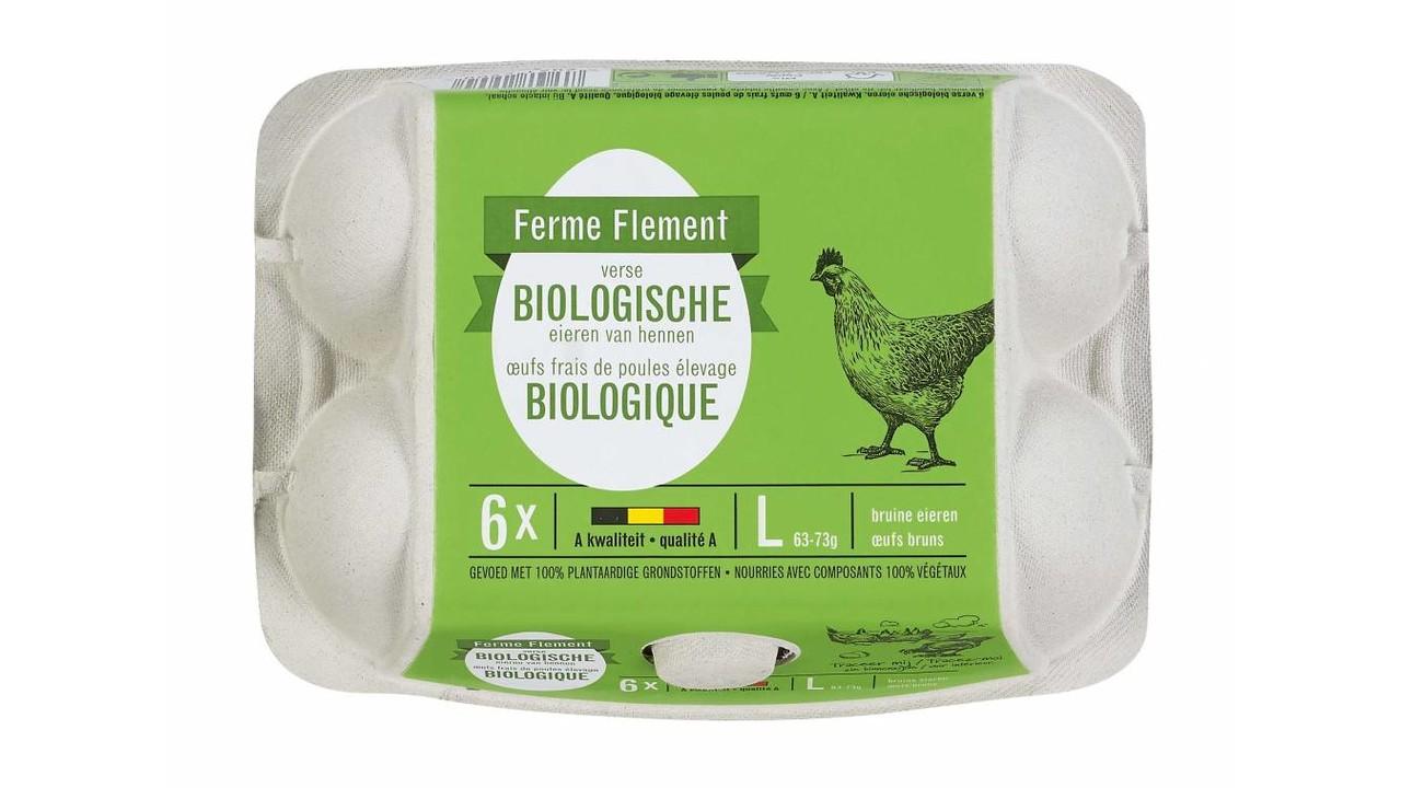 FERME FLEMENT Biologische eieren