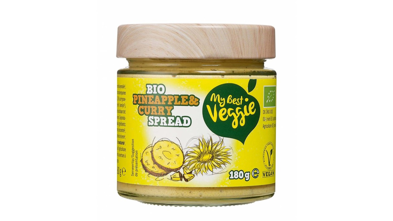 MY BEST VEGGIE Vegan bio smeersalade ananas