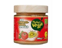 MY BEST VEGGIE Vegan bio smeersalade tomaat-basilicum