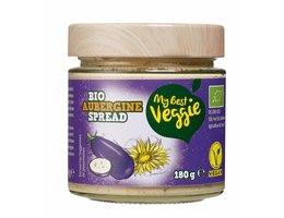 MY BEST VEGGIE Vegan bio smeersalade aubergine