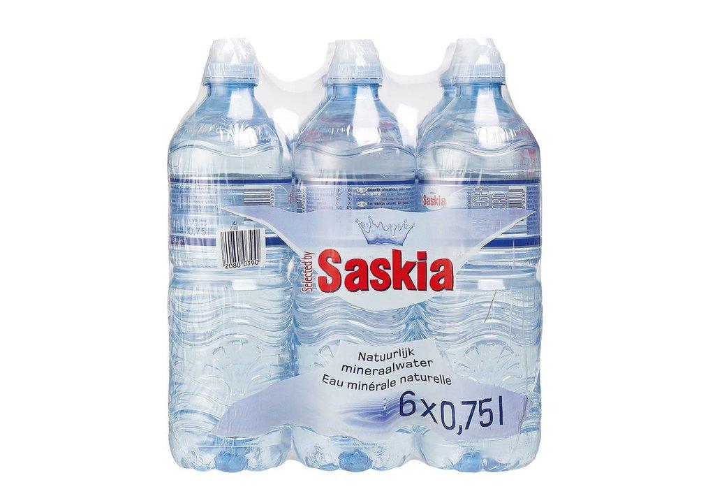 SASKIA Mineraalwater met sportdop