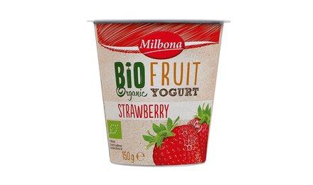 MILBONA BIO yoghurt aardbei