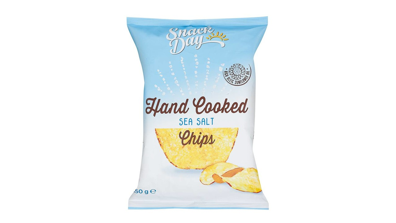 Chips lightly salted