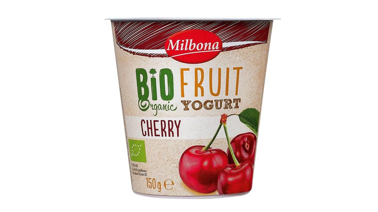MILBONA BIO yoghurt kersen