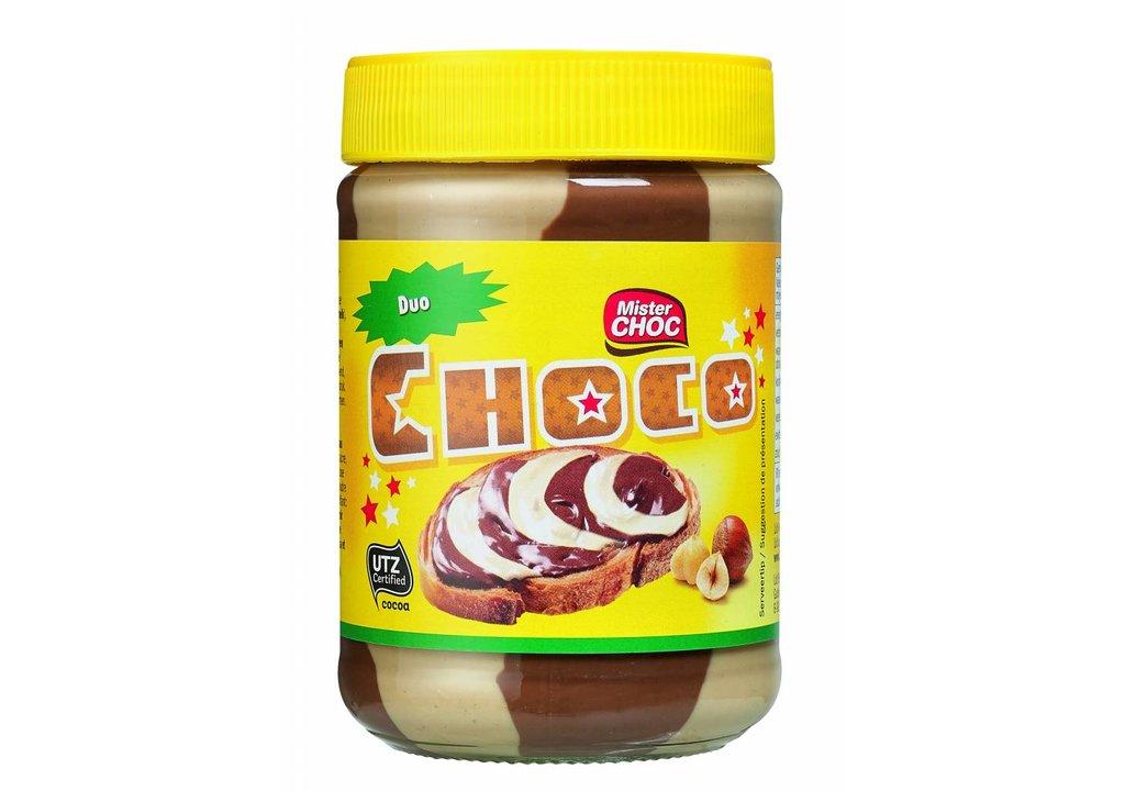 Mister Choc Duo hazelnootpasta