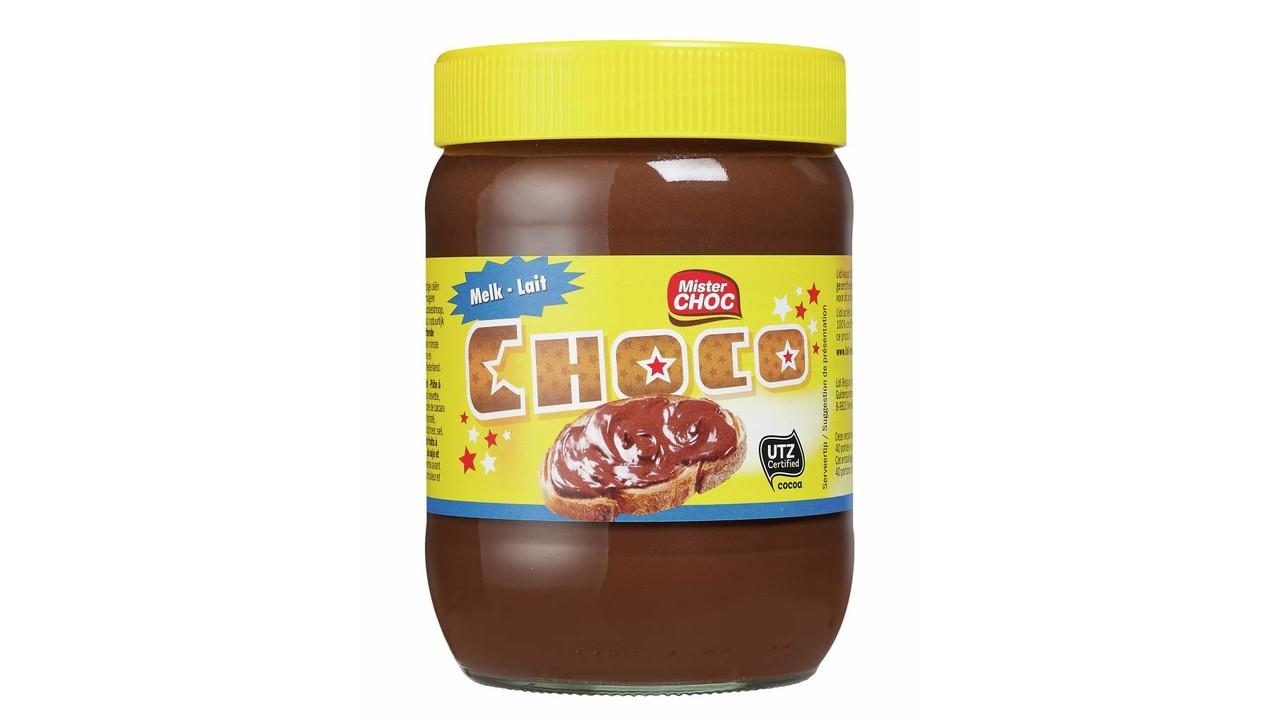Mister Choc Chocoladepasta melk