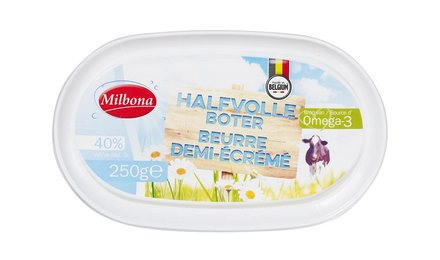MILBONA Halfvolle boter
