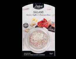 Deluxe Salami bol met truffel en parmezaanse kaas