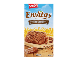 SONDEY Ontbijtkoeken dubbel chocolade