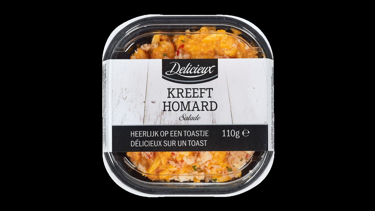 Delicieux Kreeft salade