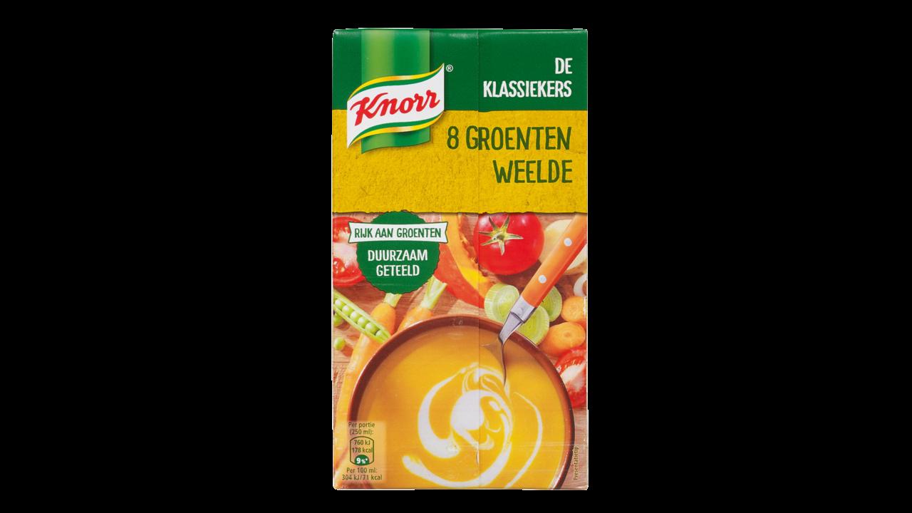 Knorr 8 groentenweelde soep