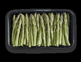 Groene aspergetips