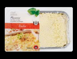 CHEF SELECT Macaroni met ham en kaas (groot)