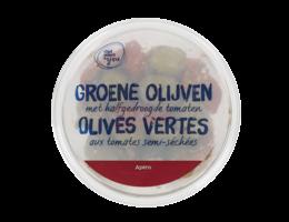 CHEF SELECT & YOU Groene olijven met halfgedroogde tomaten