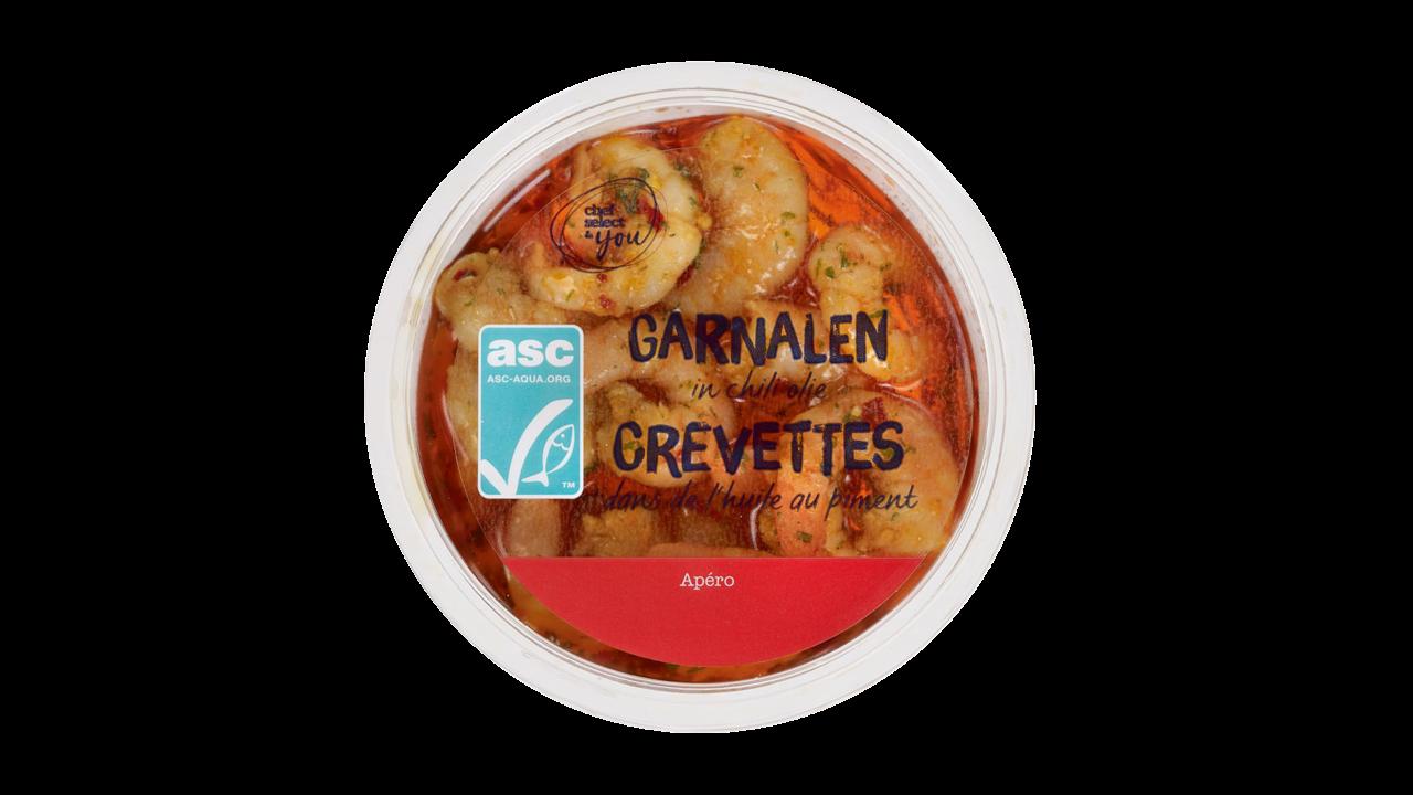 CHEF SELECT Garnalen met chili