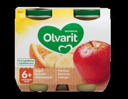 OLVARIT Olvarit 6M Appel-Sinaasappel-Banaan