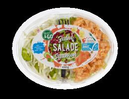 SELECT & GO Maaltijdsalade met pasta en zalm