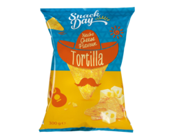 SNACK DAY Tortilla Nacho Cheese Flavour