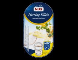 NIXE Haringfilets in mosterdsaus