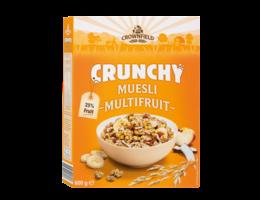 CROWNFIELD Crunchy muesli multifruit