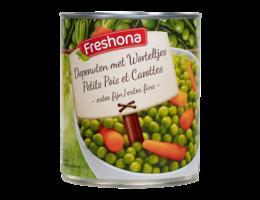 FRESHONA Erwten & wortelen