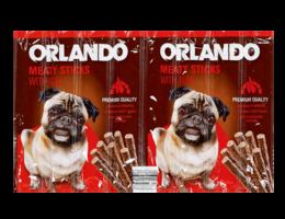ORLANDO Kauwsticks voor honden met rund