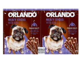 ORLANDO Kauwsticks voor honden met kalf