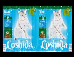 COSHIDA Kattensticks met lam en kalkoen