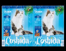COSHIDA Kattensticks met zalm en forel